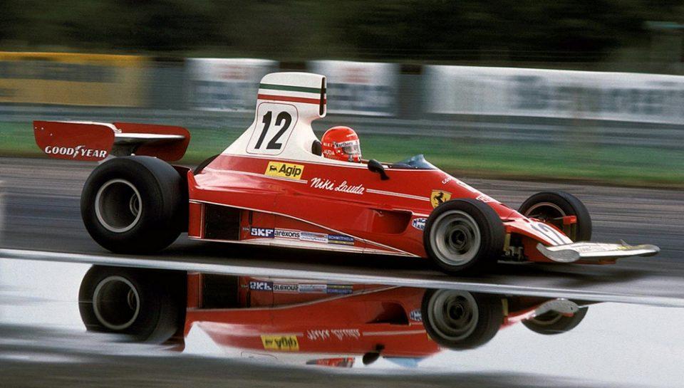 Niki Lauda- Leggenda razionale con la velocità nel sangue.