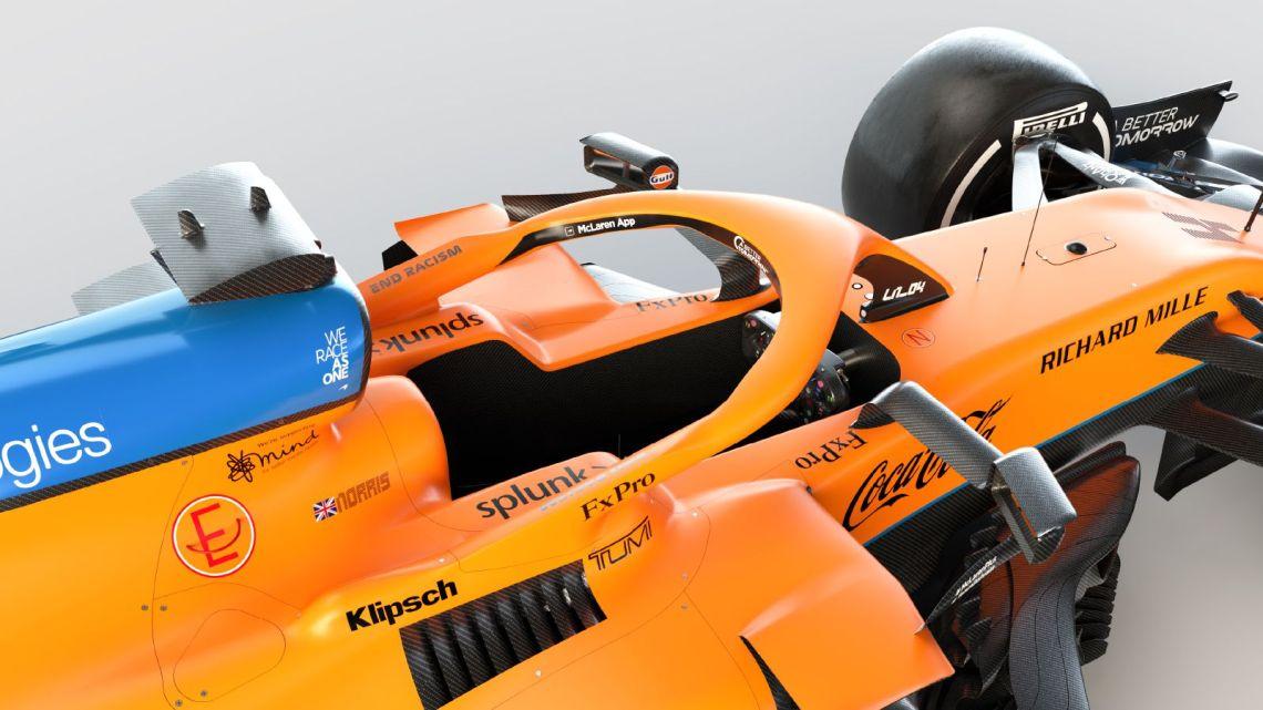Perché non c'è il logo della Mercedes sulla nuova McLaren?