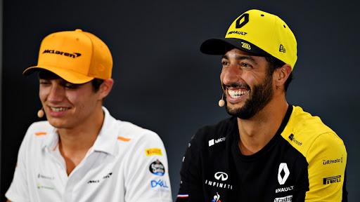 Ricciardo – Norris : una line-up di fuoco?