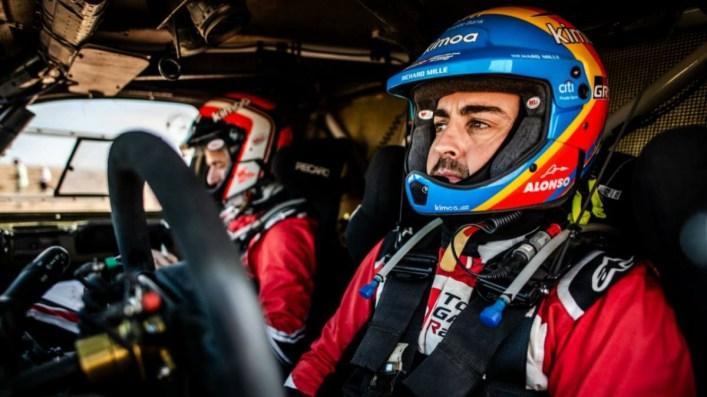 Casco Alonso Dakar
