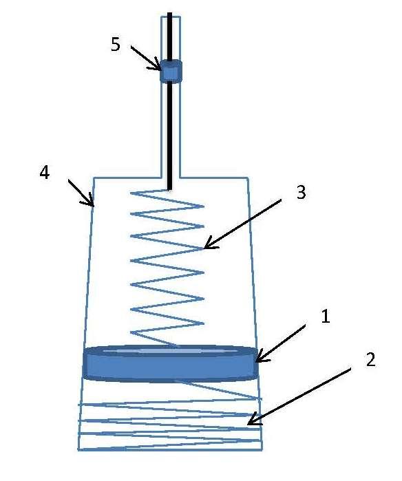 Schema esemplificativo del mass damper