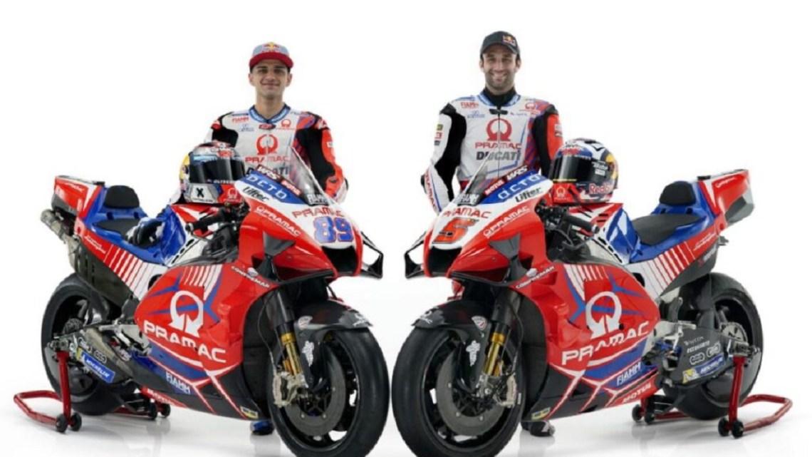 Il team satellite Ducati Pramac svela la nuova livrea MotoGP per il 2021