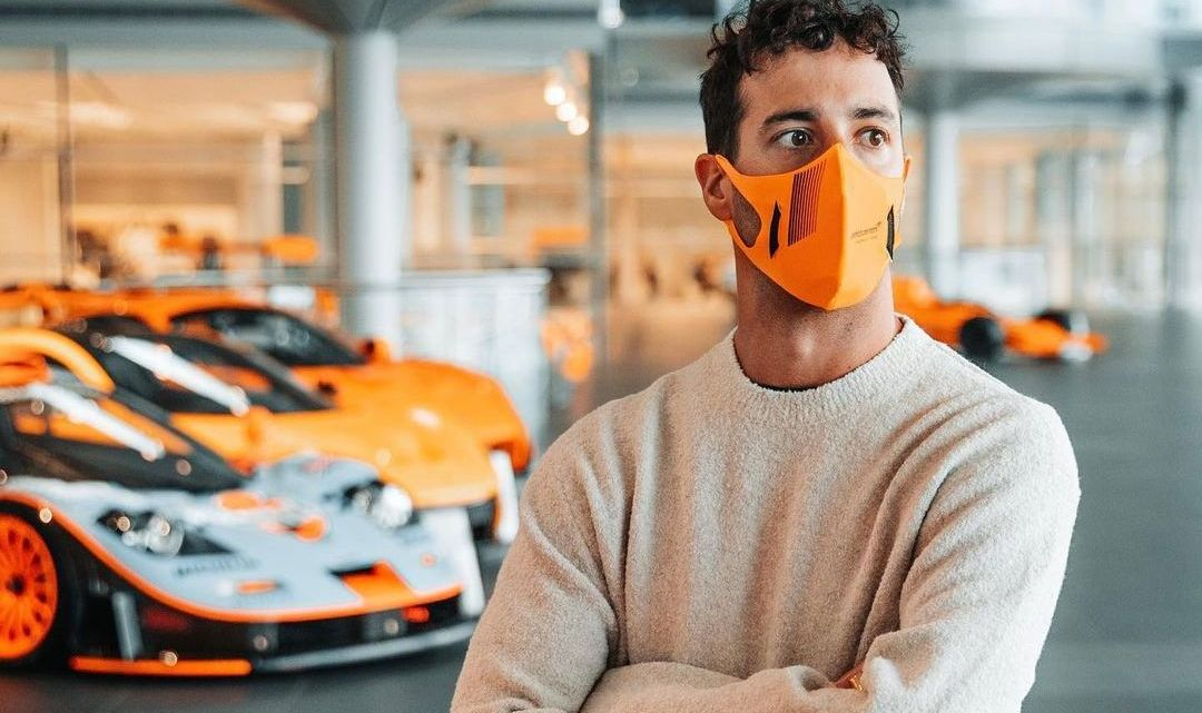 Ricciardo svela la durata del suo contratto con McLaren.