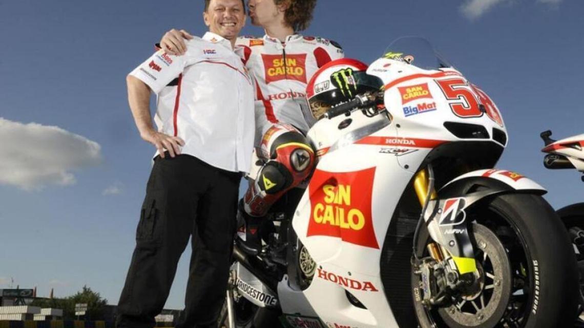 Honda rilascia una dichiarazione che rende omaggio a Fausto Gresini.