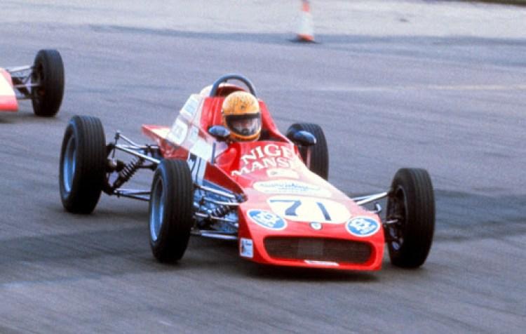 Mansell in Formula 3