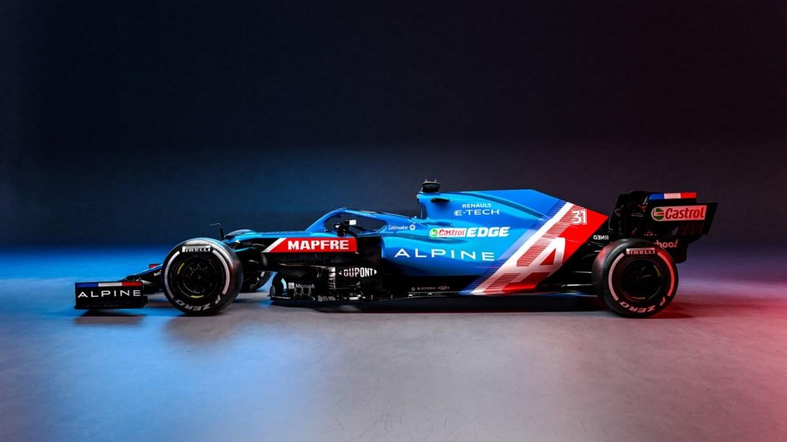 L'Alpine svela la nuova A521 di Fernando Alonso.