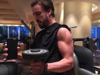 Gli allenamenti di Fernando Alonso