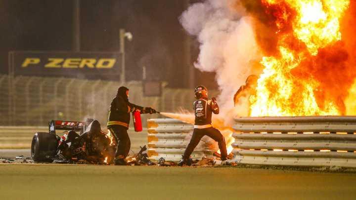 Conclusa l'indagine sull'incidente di Grosjean: impatto a 192 km/h e 67 G di forza.