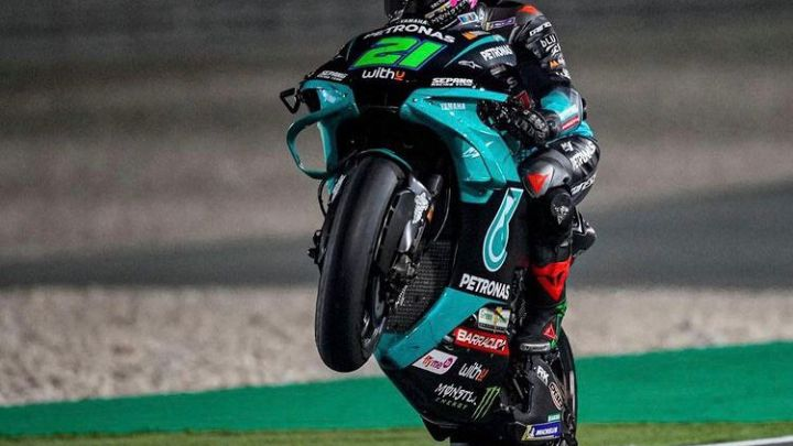 MotoGP: Uno strepitoso Morbidelli si prende le FP1
