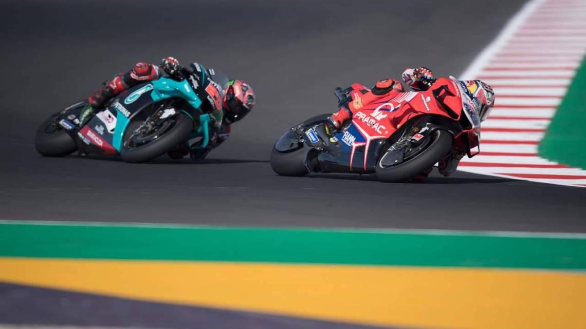 Test MotoGP: Miller e Quartararo abbattono il record della pista