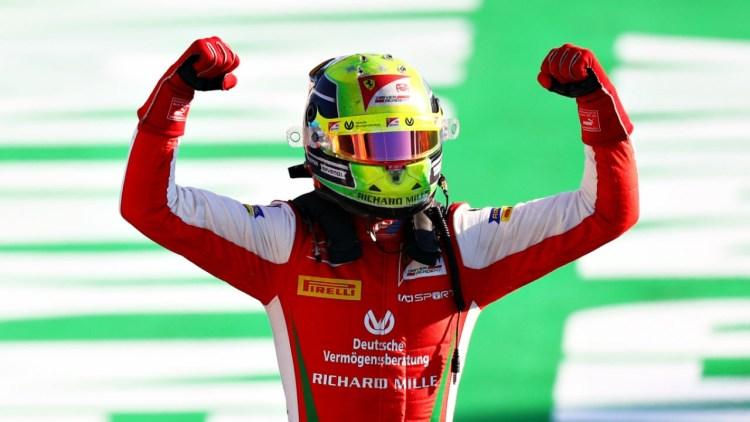 Mick Schumacher campione del mondo