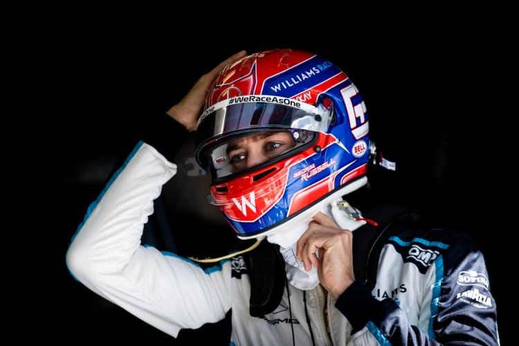 George Russell alla sua terza stagione in Formula 1 con la Williams
