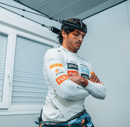 Gli allenamenti di Carlos Sainz