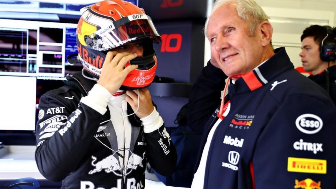 "Helmut Marko su Gasly – ""Verstappen in Alpha Tauri sarebbe più veloce""."