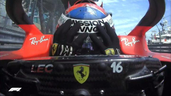 Scoperto il danno di Leclerc: è stato al mozzo della posteriore sinistra