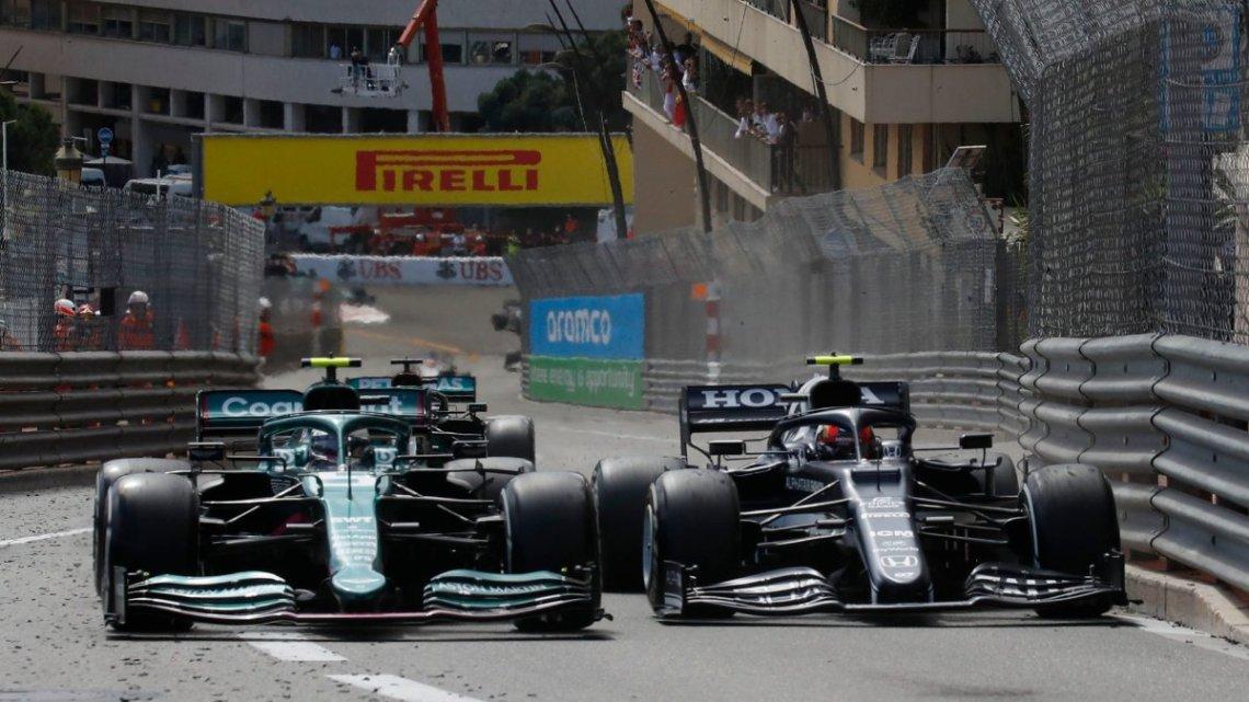 """Vettel e un dolcissimo quinto posto: """"Sono contento per me e per il Team""""."""