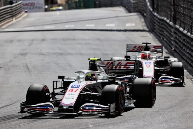 Mick Schumacher e Nikita Mazepin durante il GP di Monaco