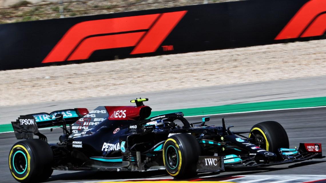 Qualifiche GP Portogallo: prima fila Mercedes, ma la pole è di Bottas
