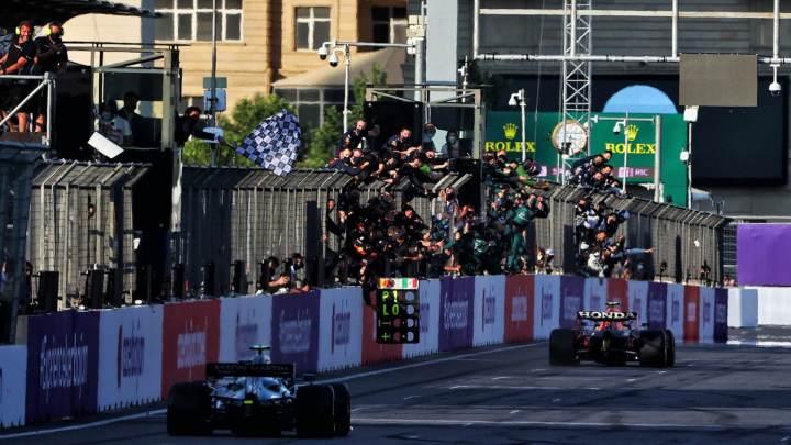 F1   GP d'Azerbaigian – prima vittoria in Red Bull per Sergio Perez