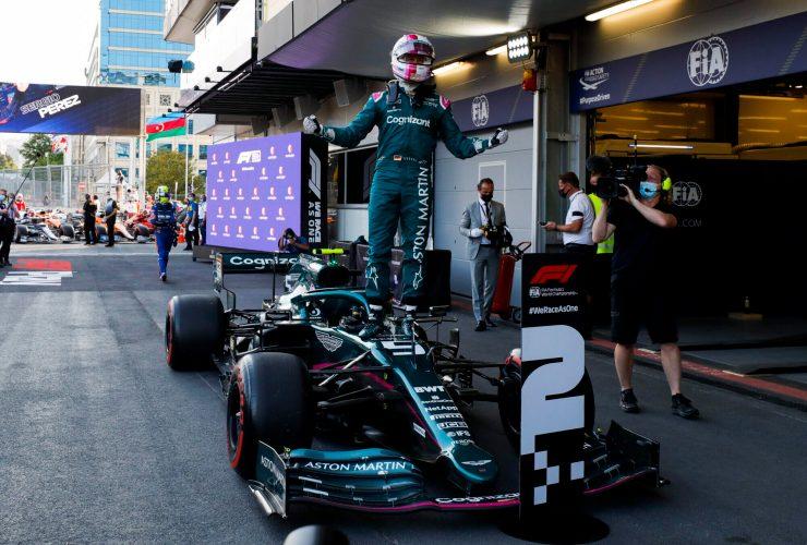 """Vettel dopo l'incredibile seconda posizione: """"Passo gara molto competitivo"""""""