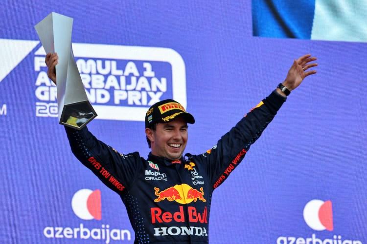 Sergio Perez, vincitore del GP di Baku