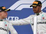 Hamilton e Bottas sul podio del GP di Sochi 2018