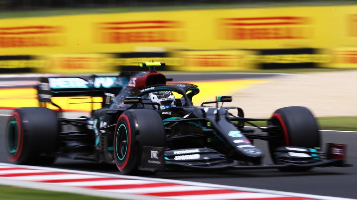 FP3 GP d'Ungheria: Hamilton comanda, seguono Verstappen e Bottas