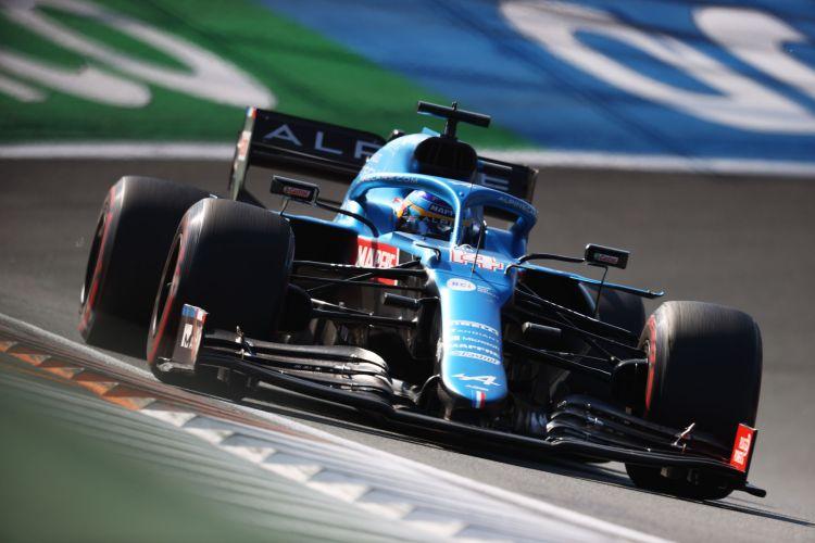 Fernando Alonso durante il Gp d'Olanda