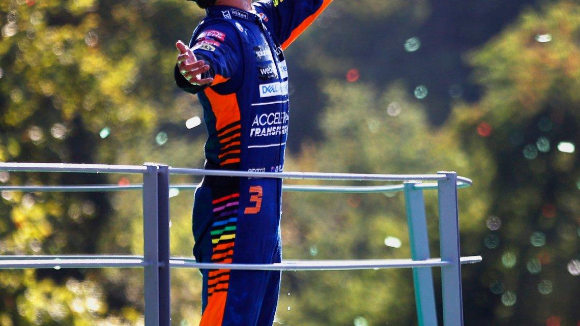 """Ricciardo euforico dopo Monza: """"Non ho mai perso la speranza"""""""