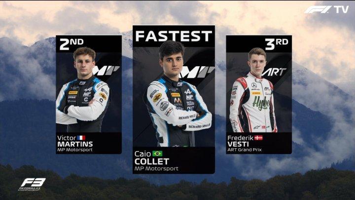 F3   Prove Libere GP Russia: Collet è il più veloce.