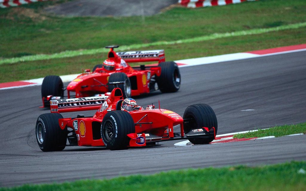 1999: Eddie Irvine e la ricerca del Santo Graal