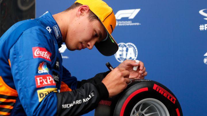 Quante possibilità hanno Norris e la McLaren di vincere con l'asciutto?