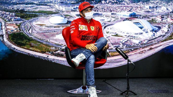 Perché Sainz non monterà il nuovo motore in Russia?