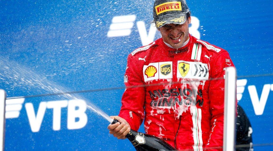 """Sainz soddisfatto: """"Il mio miglior weekend in Ferrari"""""""