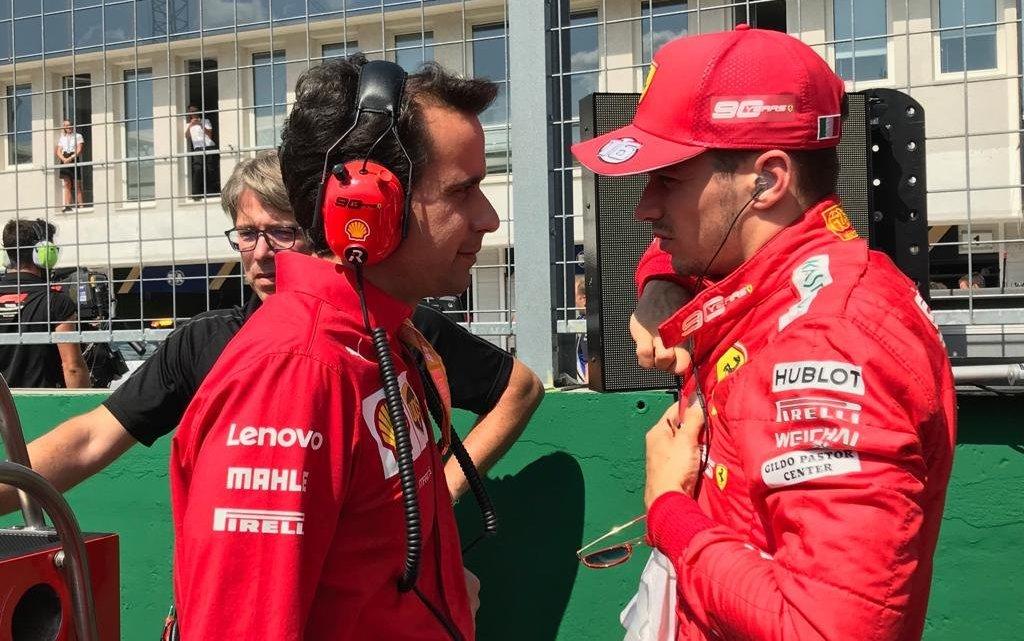 È Xavi l'ingegnere di pista giusto per Charles Leclerc?