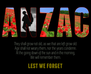 My ANZAC Day tribute