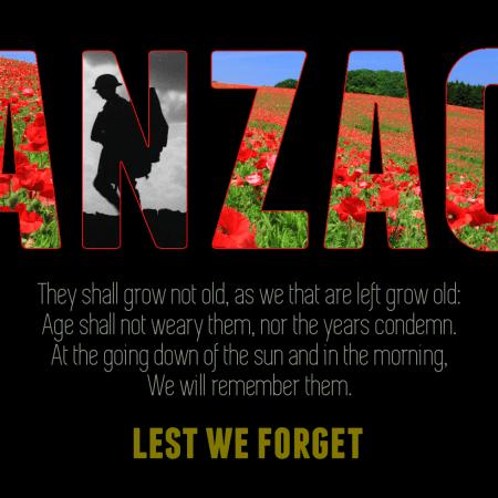 My ANZAC Day tribute
