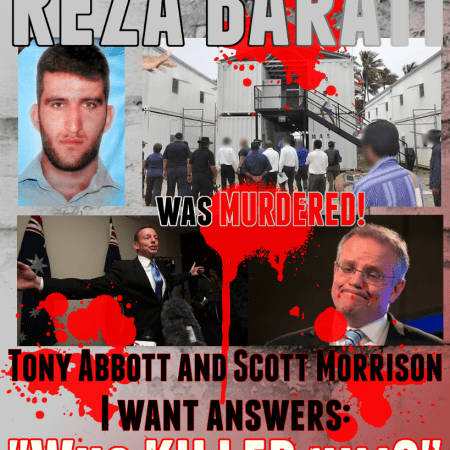 Image: Reza Barati was murdered and I want answers