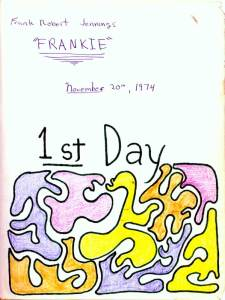 Image: an illustration from Frankie's Journal