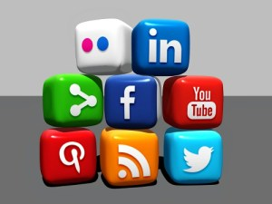 Image: My Twitter Follow Back Policy - social media - roll the dice and take your chances.