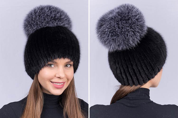 Женские меховые шапки Meiling