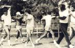 1974 puxando a fila