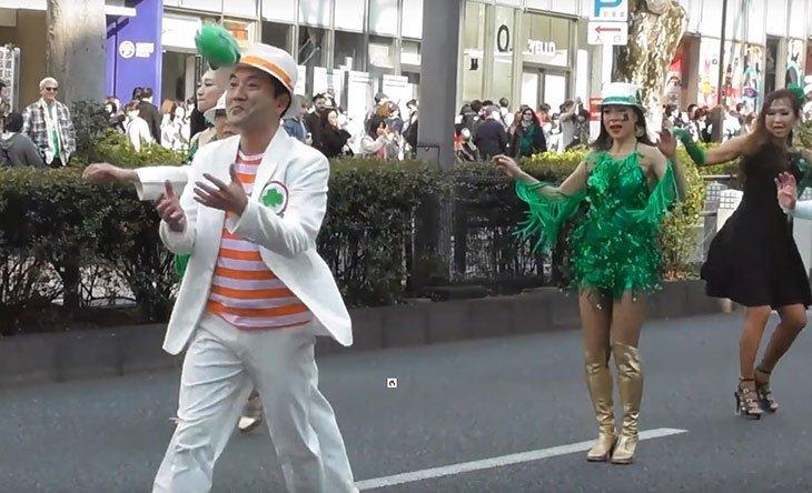 une stpat 1 - Plus de 130 000 personnes ont participé à la célébration de la Saint-Patrick à Tokyo