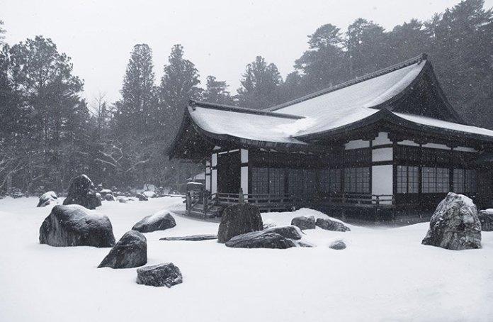 visuel maison neige - Découvrez l'une des villes les plus neigeuses du monde : Aomori