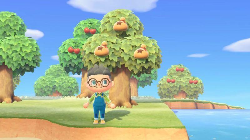 animal crossing arbre clochette