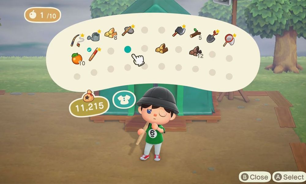 Augmenter taille inventaire Animal Crossing