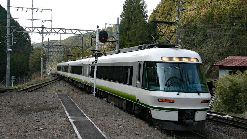 un train au Japon