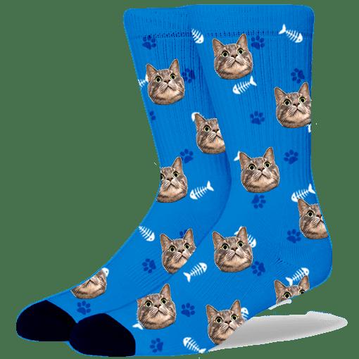 FurbabySocks-Custom-Blue-Cat-Socks