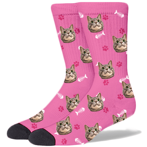 FurbabySocks-Custom-Pink-Cat-Socks