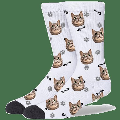 FurbabySocks-Custom-White-Cat-Socks